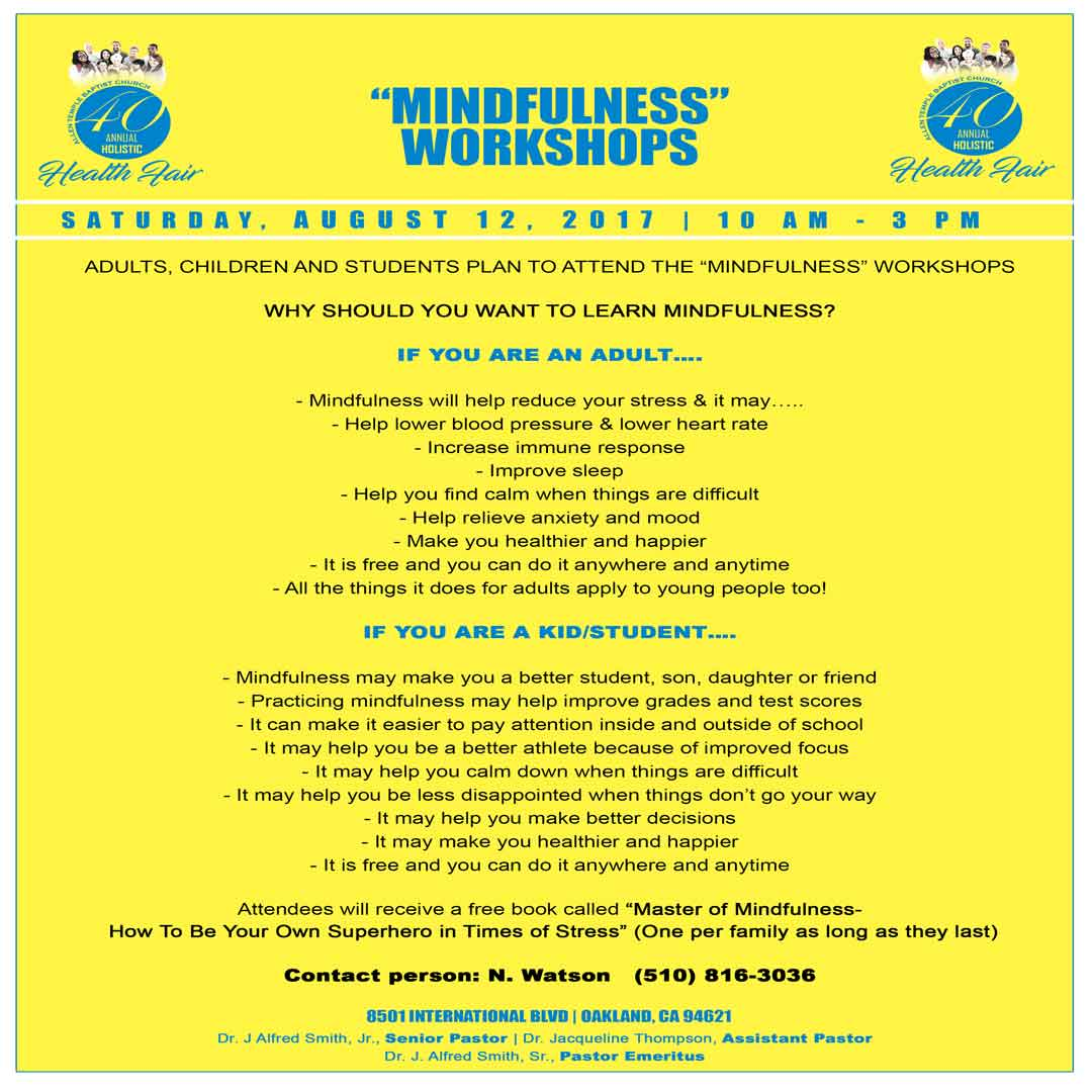 ATBC Health Fair 2017 Mindfulness Workshop Insta